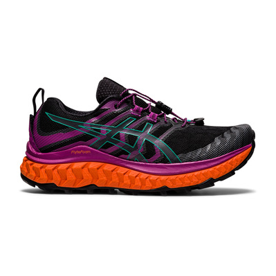 ASICS - TRABUCO MAX - Trail Shoes - Women's - black/digital grape