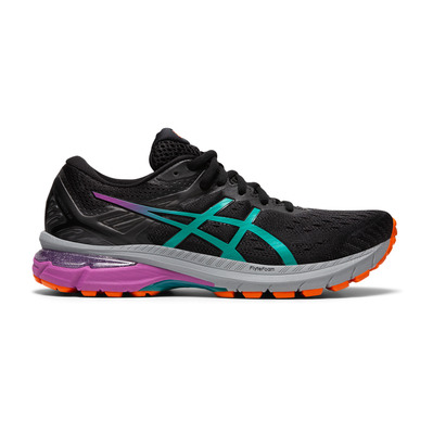 ASICS - GT-2000 9 TRAIL - Trail Shoes - Women's - black/baltic jewel
