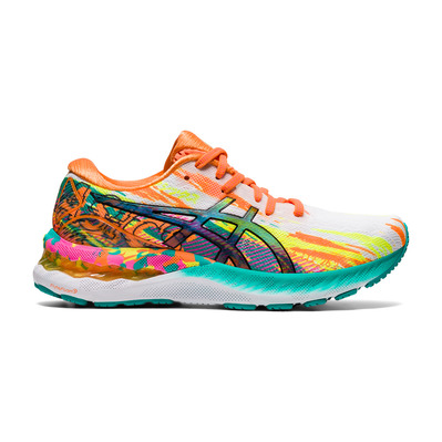 ASICS - GEL-NIMBUS 23 - Chaussures running Femme hot pink/sour yuzu