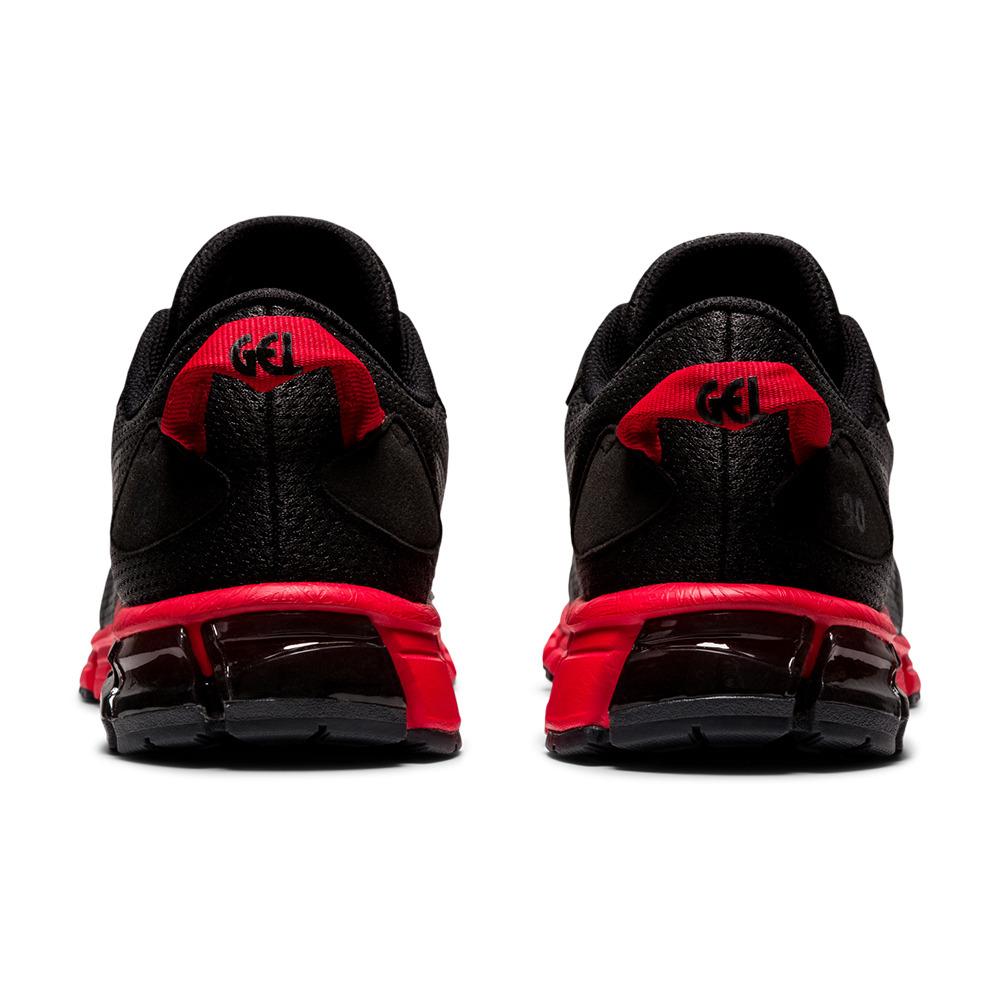 Asics GEL-QUANTUM 90 - Chaussures running Homme black/classic red ...