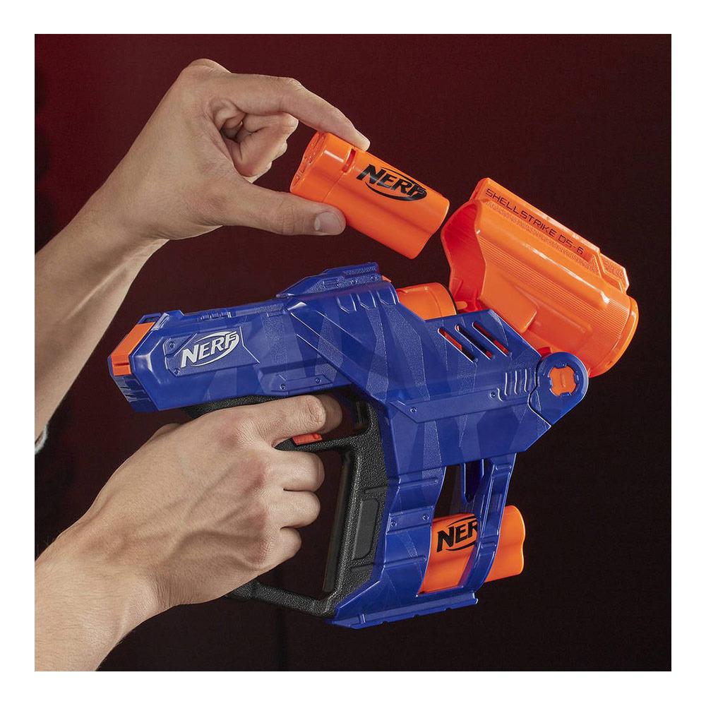 HASBRO GAMES Nerf ELITE SHELLSTRIKE DS-6 - Pistolet à ...