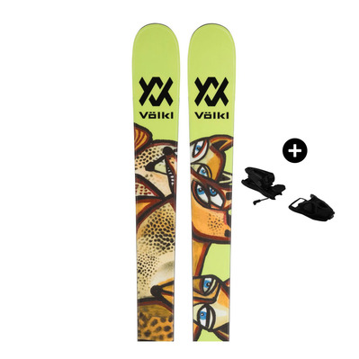VOLKL - REVOLT 87 - Pack skis freestyle Homme