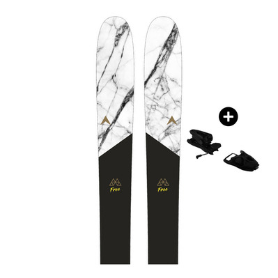 DYNASTAR - M-FREE 108 - Pack skis backcountry