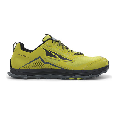 ALTRA - LONE PEAK 5 - Trail Shoes - Men's - lime/black