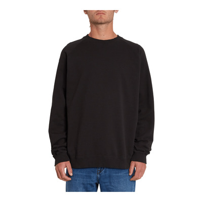 VOLCOM - FREELEVEN CREW FLEECE - Sweat Homme black