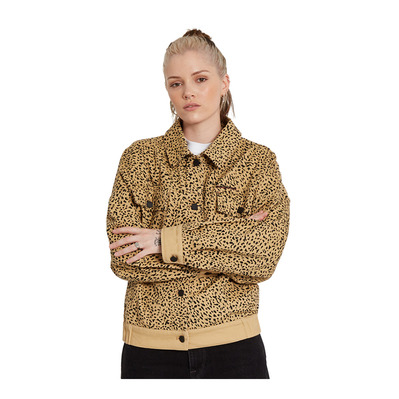 VOLCOM - HIGH WIRED - Jacket - Women's - animal print