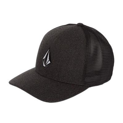 VOLCOM - FULL STONE CHEESE 110 - Cap - Men's - charcoal heather