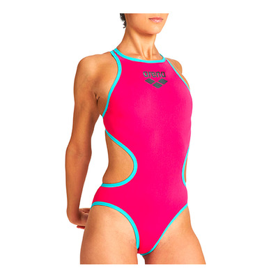 ARENA - ONE BIGLOGO - Maillot de bain Femme freak rose/mint