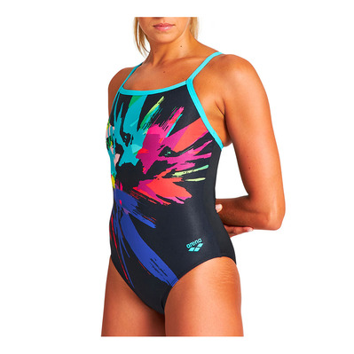 ARENA - CALIBRATE LIGHT DROP - Maillot de bain Femme black/martinica