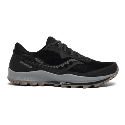 SAUCONY - PEREGRINE 11 GTX - Chaussures trail Homme black/gravel