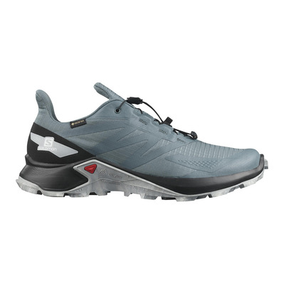 SALOMON - SUPERCROSS BLAST GTX - Zapatillas de trail hombre stormy weather/black/quarry