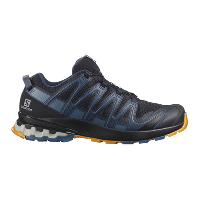 SALOMON - XA PRO 3D V8 - Hiking Shoes - Men's - night sky/dark denim/buttersco