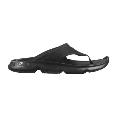 SALOMON - REELAX BREAK 5.0 - Recovery Sandals - Men's - black/black/black