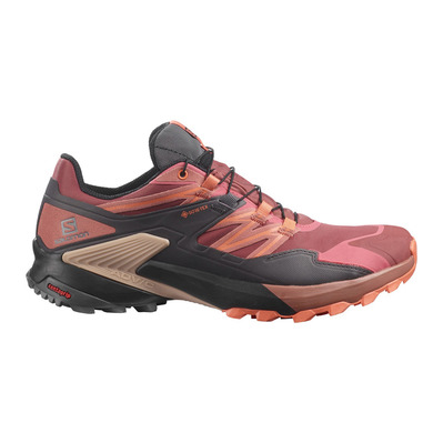 SALOMON - WINGS SKY GTX - Chaussures trail Femme apple butter/magnet/persimon