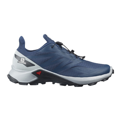 SALOMON - SUPERCROSS BLAST - Trail Shoes - Men's - dark denim/pearl blue/ebony