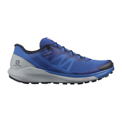 SALOMON - SENSE RIDE 4 - Trail Shoes - Men's - turkish sea/pearl blue/night sky