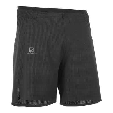 SALOMON - SENSE AERO 7'' - Shorts - Men's - black