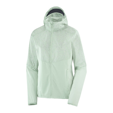 SALOMON - AGILE - Jacket - Women's - opal blue/ao