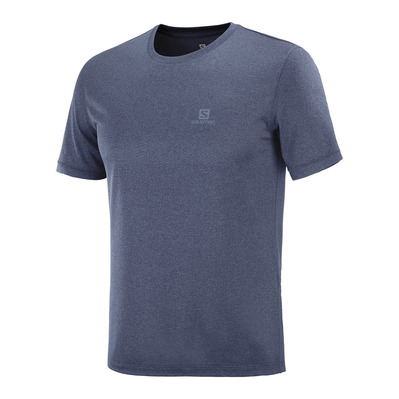 SALOMON - EXPLORE - Maillot Homme night sky/mood indi/heather