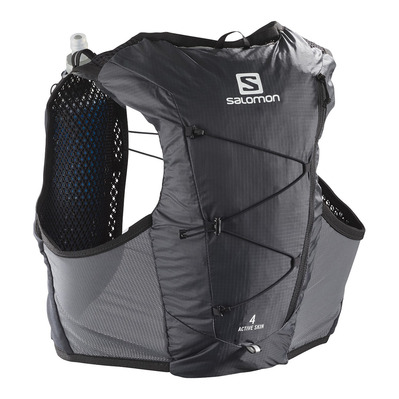 SALOMON - ACTIVE SKIN 4L - Sac d'hydratation ebony/black