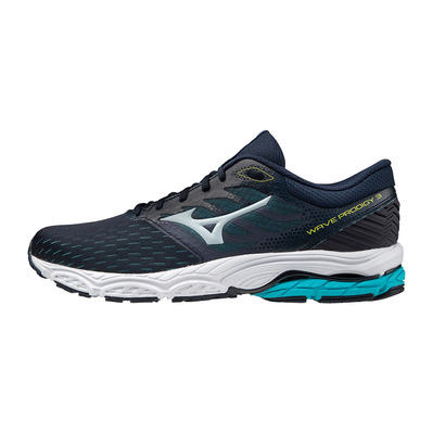MIZUNO - WAVE PRODIGY 3 - Chaussures running Homme ombre blue/illusion blue/scuba blue