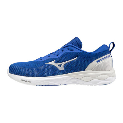 MIZUNO - WAVE REVOLT - Running Shoes - Men's - surf the web/silver/white