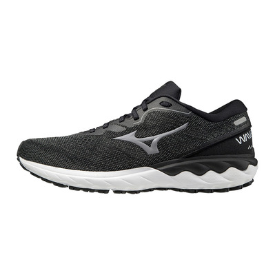 MIZUNO - WAVE SKYRISE 2 - Running Shoes - Men's - black/frost grey/white