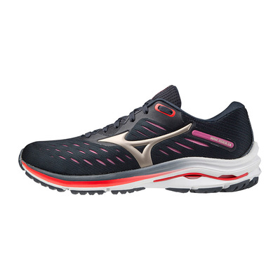 MIZUNO - WAVE RIDER 24 - Running Shoes - Women's - india ink/platinum gold/ignition red