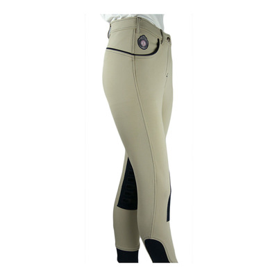 EASY RIDER - Euro-Star ABBY - Pantaloni con silicone Donna beige/navy