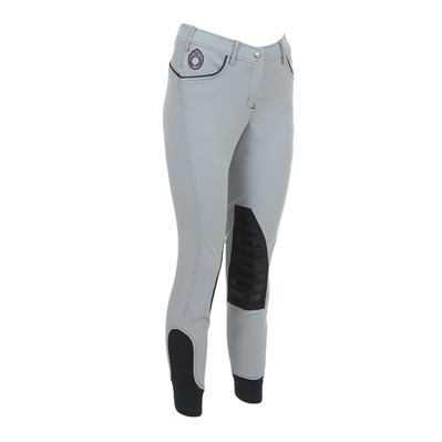 EASY RIDER - Euro-Star ABBY- Hose mit Silikonbesatz - Frauen - light grey/ navy