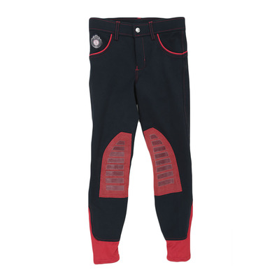 EASY RIDER - Euro-Star ABBY - Pantaloni con silicone Junior navy-chilly-red