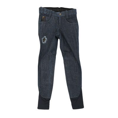 EASY RIDER - Euro-Star DONATA DENIM - Hose mit Silikonbesatz - Junior - denim