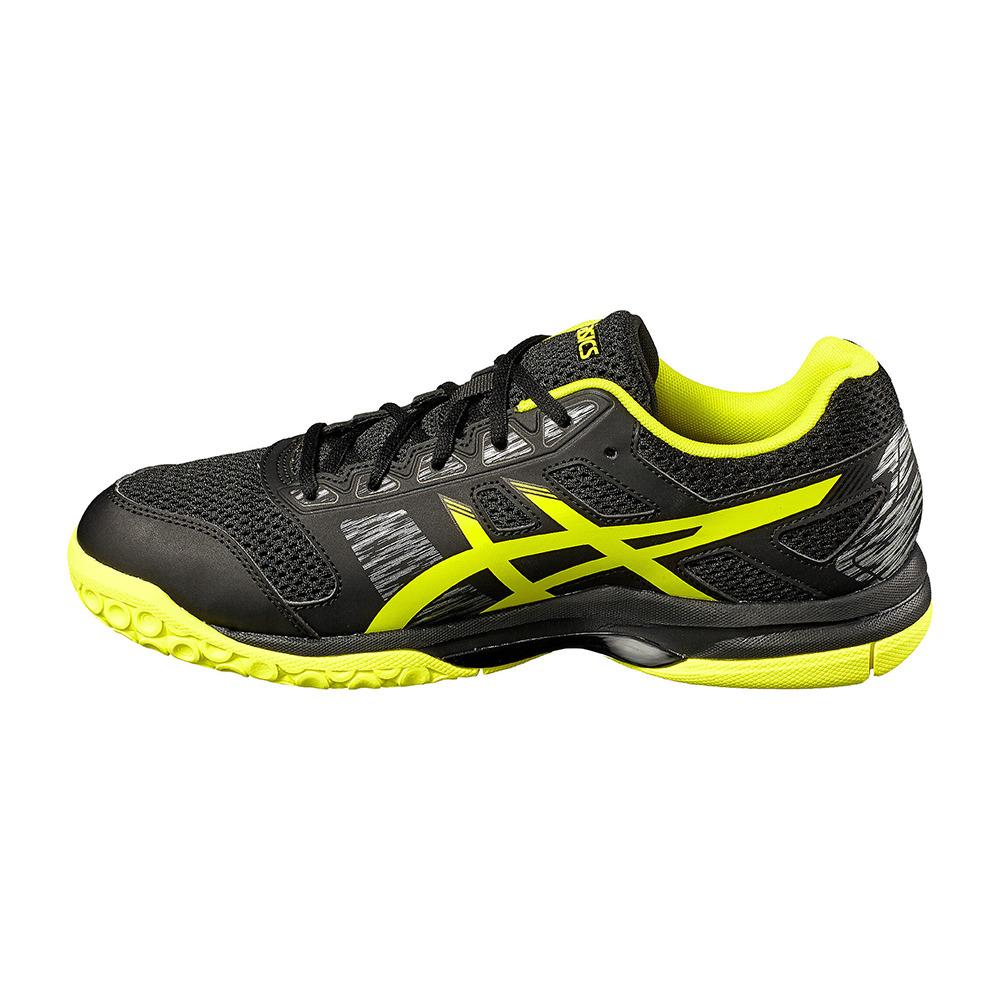 ASICS TENNIS Asics GEL-FLARE 6 - Indoor Shoes - Men's - black ...