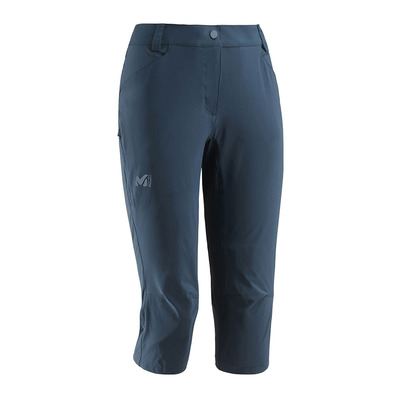 MILLET - TREKKER STRETCH II - Cropped Pants - Women's - orion blue
