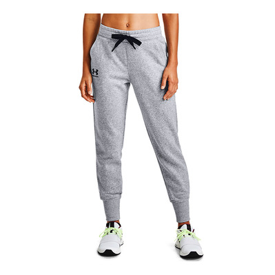 UNDER ARMOUR - Rival Fleece Joggers-GRY Femme GREY