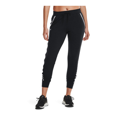 UNDER ARMOUR - RIVAL TERRY - Jogging Femme black