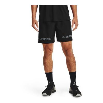 UNDER ARMOUR - UA Woven Graphic WM Short-BLK Homme BLACK
