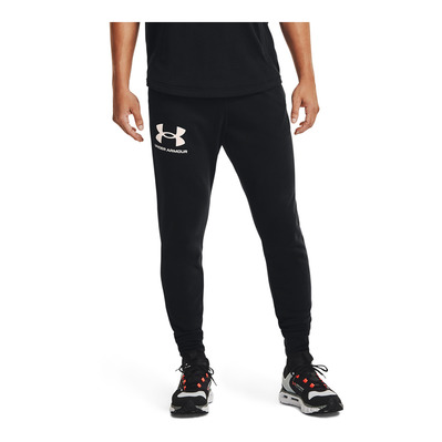 UNDER ARMOUR - UA RIVAL TERRY JOGGER-BLK Homme BLACK