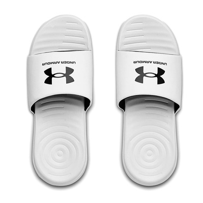 UNDER ARMOUR - ANSA FIX - Sandales Homme white