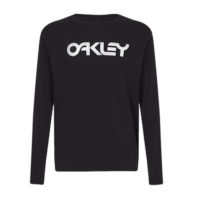 OAKLEY - MARK II L/S - Tee-shirt Homme black/white