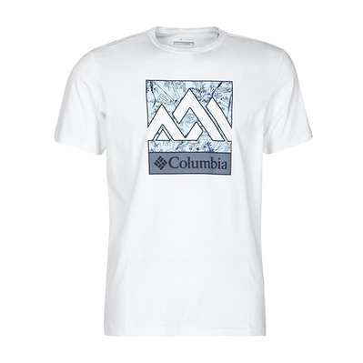COLUMBIA - RAPID RIDGE - Tee-shirt Homme white triple pe