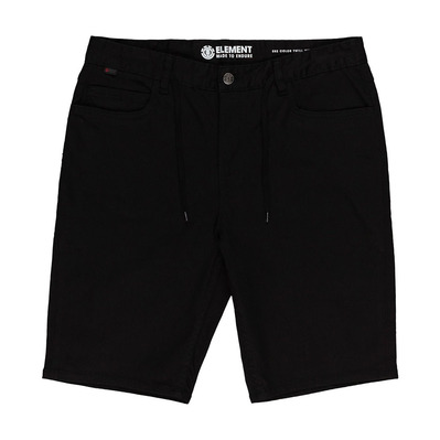 "ELEMENT - E02 COLOR TWILL 21"" - Short Homme flint black"