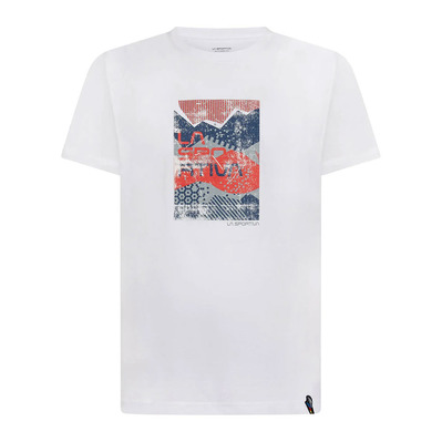LA SPORTIVA - Patch T-Shirt M Homme White
