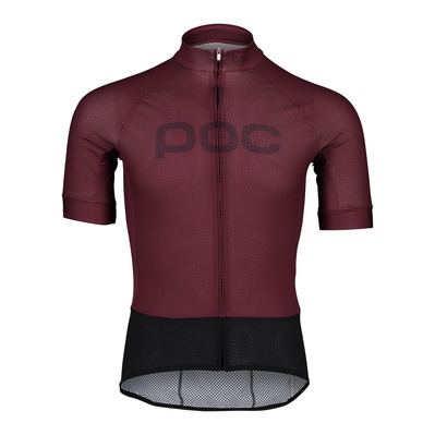 POC - ESSENTIAL ROAD - Maillot cycliste Homme propylene red/dk propylene red