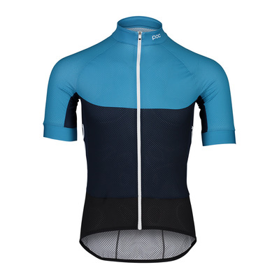 POC - ESSENTIAL ROAD LIGHT - Maillot cycliste Homme basalt blue/turmaline navy