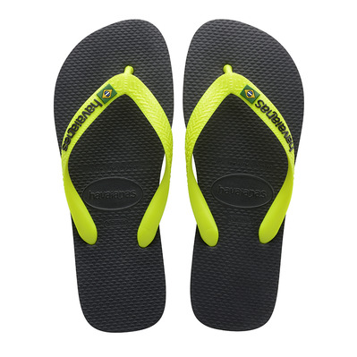 HAVAIANAS - BRASIL - Tongs Homme new graphite