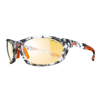 JULBO - RACE 2.0 - photochrome Sonnenbrille - tortoiseshell grey/orange/brun yellow