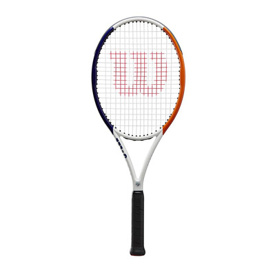 WILSON - ROLAND GARROS TEAM RKT - Raquette cordée white blue orange