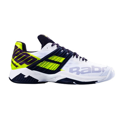 BABOLAT - PROPULSE FURY ALL COURT 2019 - Chaussures tennis Homme white/fluo aero