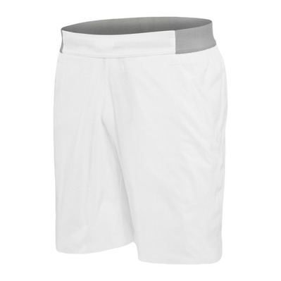 BABOLAT - PERF SHORT 7'' - Short Homme white/dark yellow